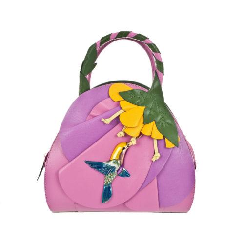 Итальянская сумка Braccialini B8591 из натуральной кожи