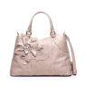 Женская сумка Braccialini B8611 бежевого цвета с аппликацией в виде цветов