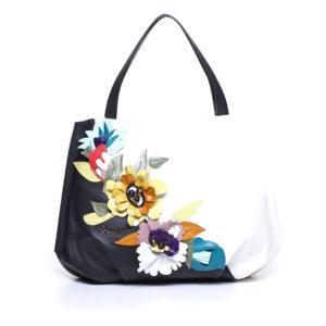 Женская итальянская сумка Braccialini B8692 из натуральной кожи