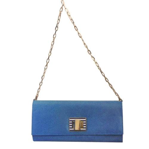 Купить клатч Roberta Gandolfi 7054 azzurro