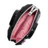 Сумка Braccialini 9761 черная с аппликацией - цена 14130 руб, купить