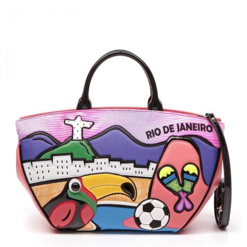 Женская сумка Braccialini 10214 из экокожи - цена, купить