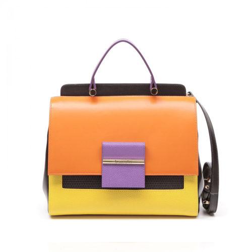 Итальянская сумка-саквояж Braccialini 10492 мультиколор - цена, купить