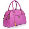 Итальянская кожаная сумка Cromia 1402659 цвета фуксия вид сбоку