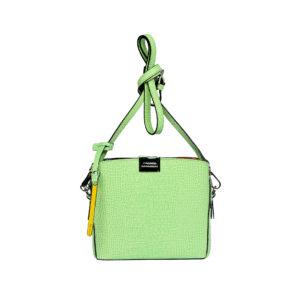 Итальянская сумка кросс-боди Cromia 1402720 зеленая