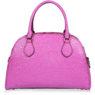 Итальянская кожаная сумка Cromia 1402659 цвета фуксия вид сзади