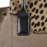 Итальянская средняя сумка Roberta Gandolfi N3011 бежевая кожа