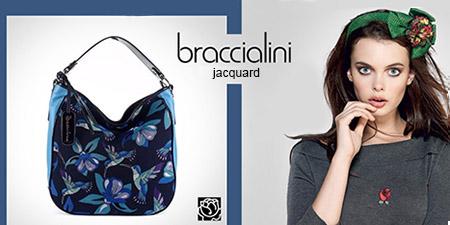 Сумки Braccialini из коллекции Jacquard (Жаккард) покоряют сердца