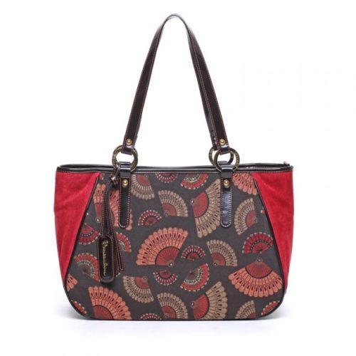 Сумка сумка Braccialini B8288 жаккард - цена 9500 руб, купить