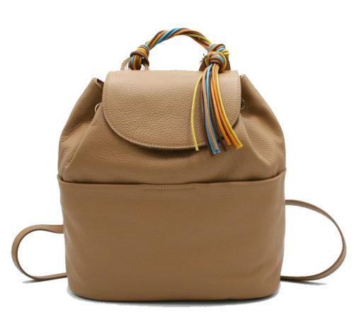 Купить рюкзак Roberta Gandolfi rg4034 цвета капучино