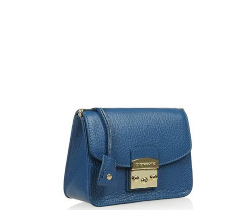 Женская сумка DI Gregorio 771-blue кросс-боди - цена 6800 руб, купить