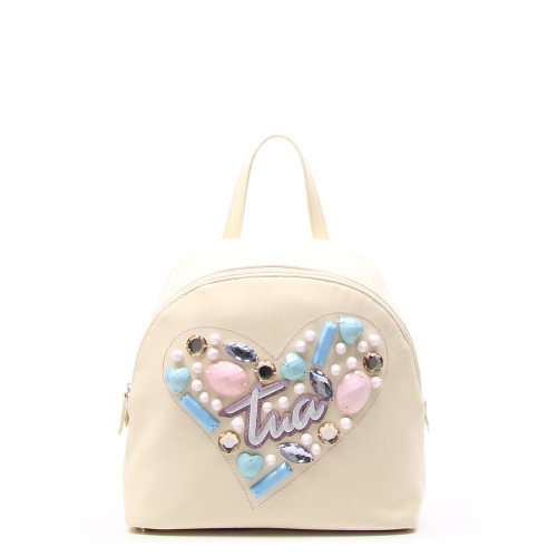 Купить женский рюкзак Braccialini B11344-bej из натуральной кожи