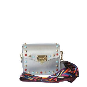 Женская сумка DI Gregorio 8573-silv кросс-боди - цена 5200 руб, купить