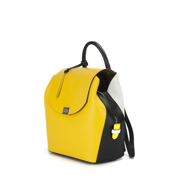 e31622487e1e Женский рюкзак Cromia 1402726 желтый - купить, цена 10000 руб.