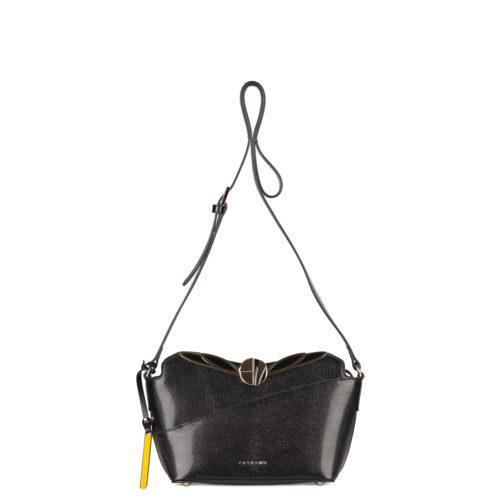 Купить сумку Cromia через плечо из натуральной кожи