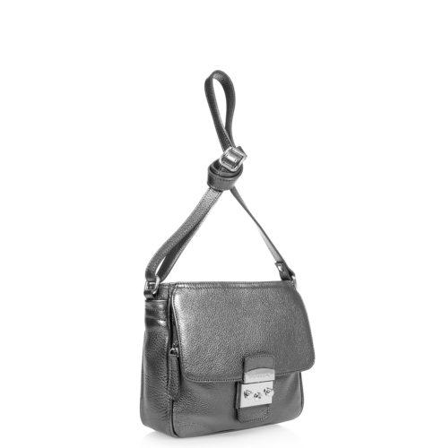 Купить женскую сумку DI Gregorio 779-silv серебристую