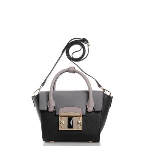 Сумка через плечо Cromia 1403458 черная - купить, цена 14800 руб.