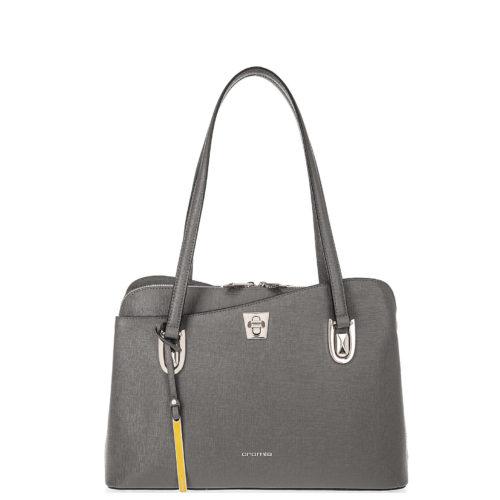 Купить сумку-шоппер Cromia 1403410 из натуральной серой кожи