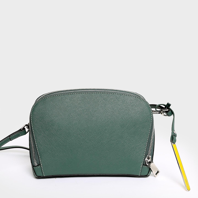 680d8ad15786 ... Купить сумку через плечо из натуральной кожи зеленого цвета Cromia  403380-blue ...