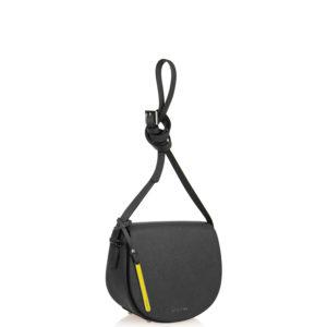 Купить женскую сумку через плечо Cromia 1403389-nero черного цвета