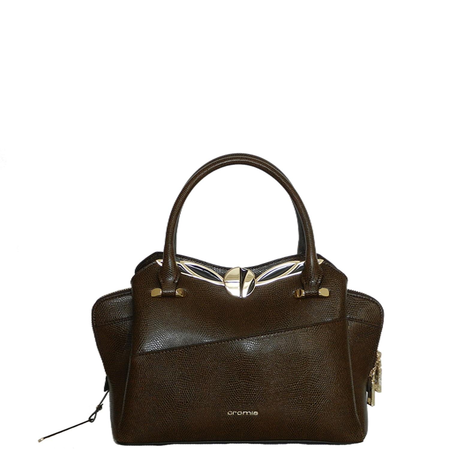 df3d5f8391d7 Средняя сумка Cromia 1404315 коричневая - цена 14000 руб, купить