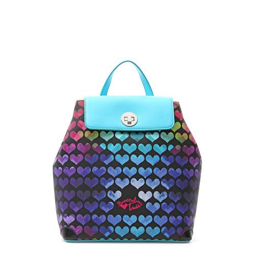 Женский рюкзак Braccialini 12087 красный - цена 11000 руб, купить