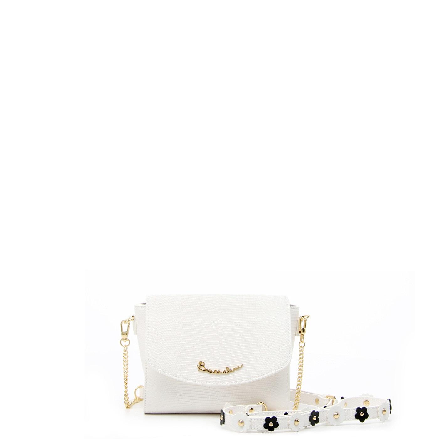 efa17043b7b6 Женская сумка Braccialini 12270 белая - цена 16700 руб, купить