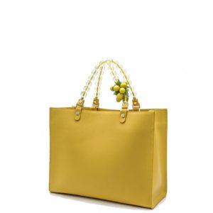 купить женскую сумку Roberta Gandolfi 427 Cappuccetto цвет золото
