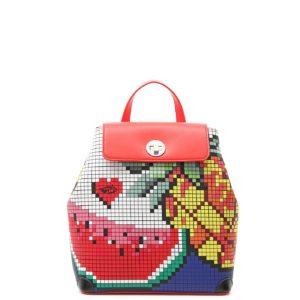 купить женский рюкзак Braccialini 12087 красный