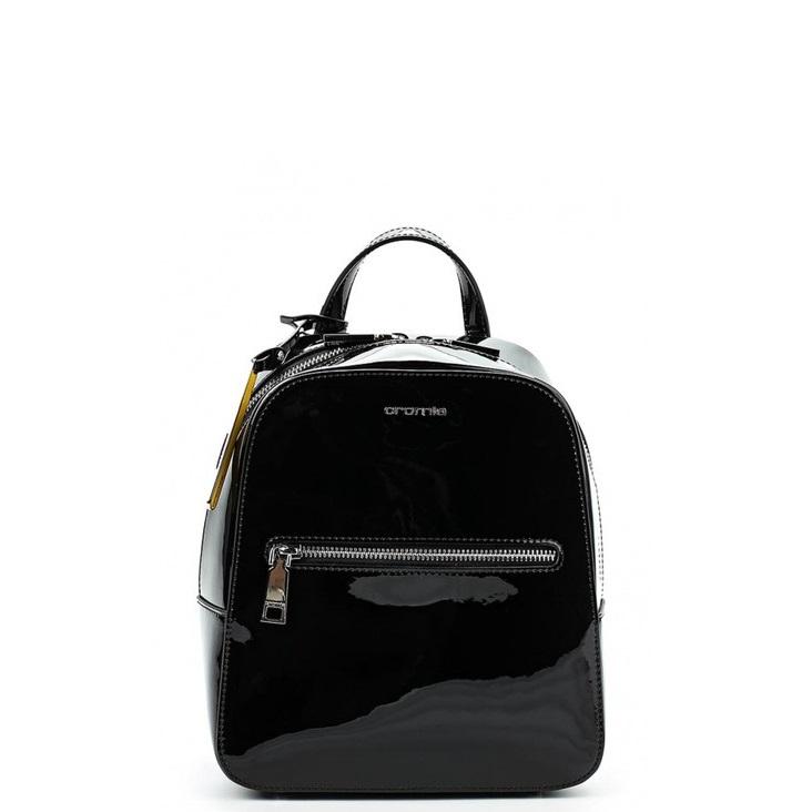 72b6641d0dfa Лаковый рюкзак Cromia 1403619 черный - цена 13600 руб, купить