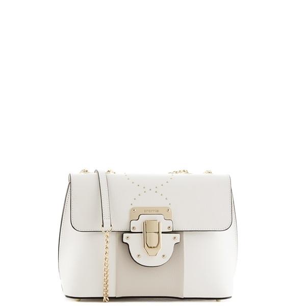 e090f66e45f5 Средняя сумка Cromia 1403697 белая - цена 14500 руб, купить