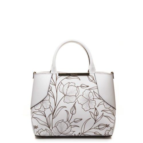 Средняя сумка Ripani Candy 8441 белая - купить, цена 18800 руб