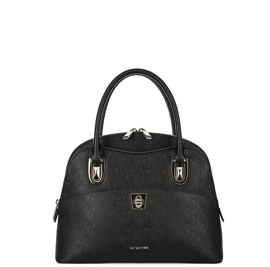6f29379bac0a Большая женская сумка Cromia 1403632 черная - цена 18100 руб., купить