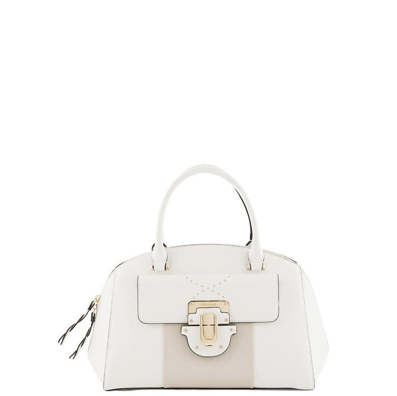 91b0575a69a5 Большая женская сумка Cromia 1403695 белая - цена 15000 руб., купить