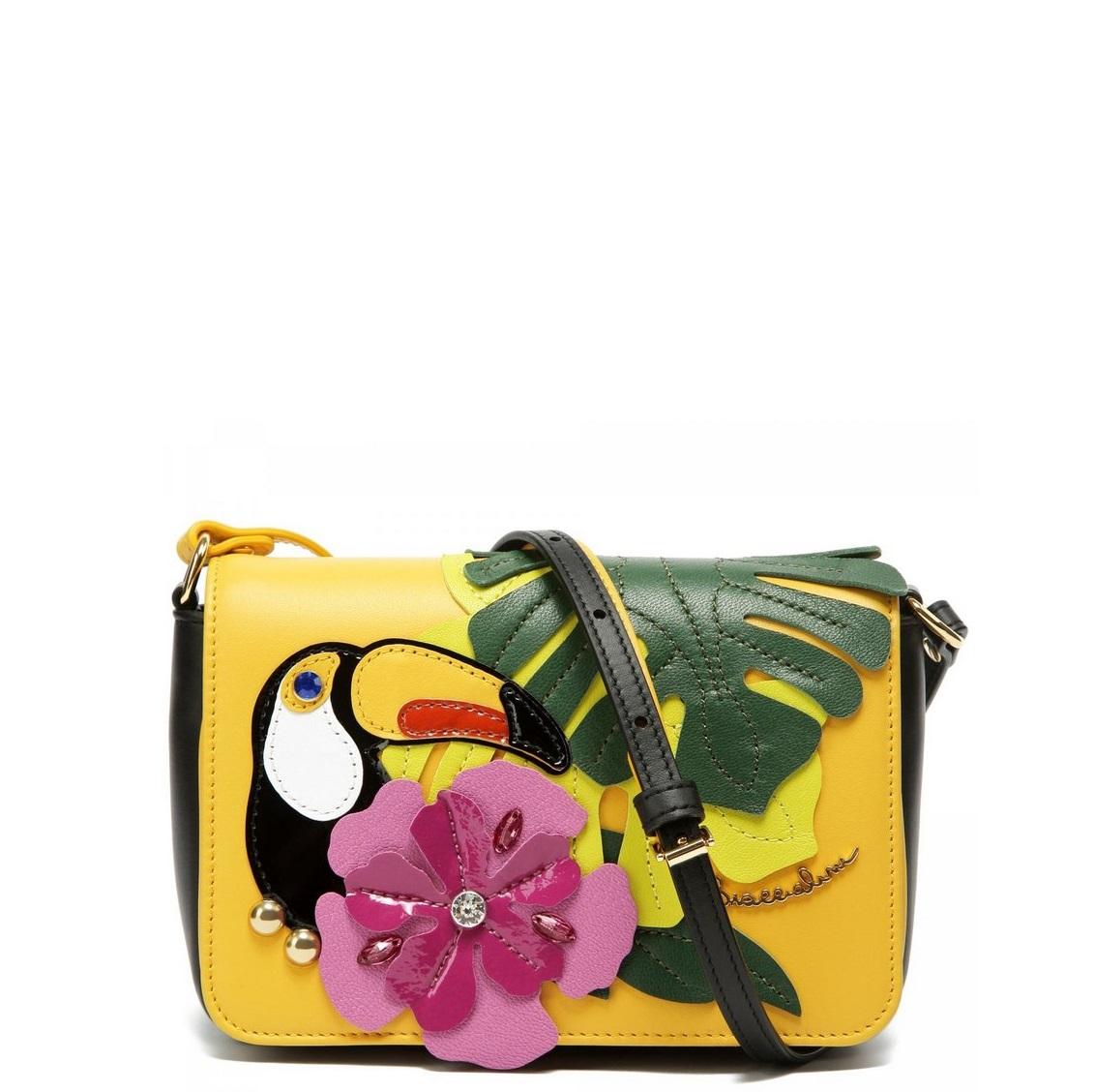 bce624ed5fcf Маленькая сумка Braccialini B12341 мультиколор - цена 14700 руб, купить