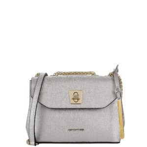 купить женскую сумку Cromia 1403627 серебристая