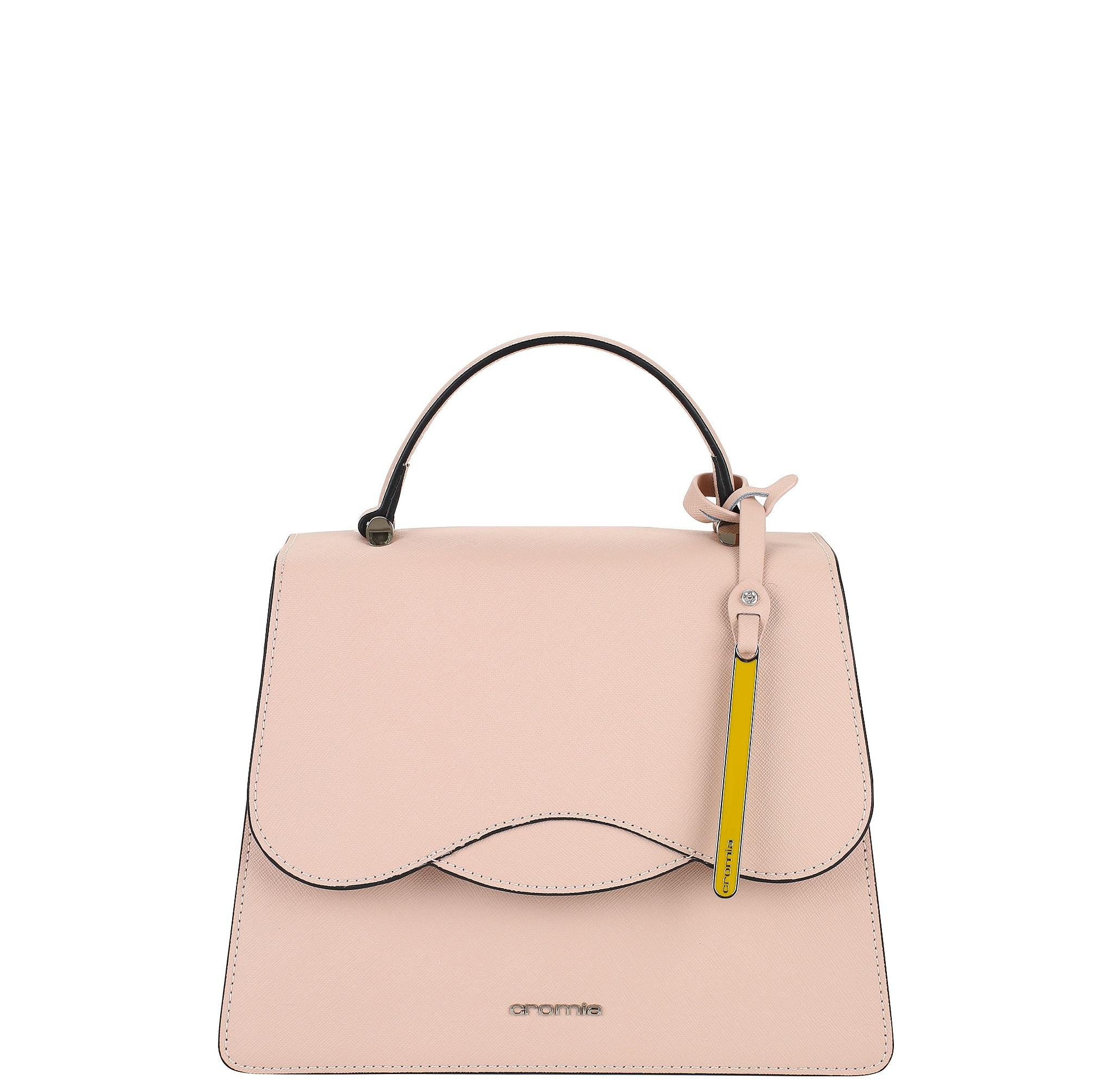 968a63372321 Средняя женская сумка Cromia 1403593 розовая - цена руб, купить