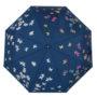 Женский зонт складной Flioraj 210715 FJ синий - цена 2500 руб., купить