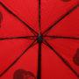 Женский складной зонт Flioraj 22006 FJ красный - цена 2500 руб., купить
