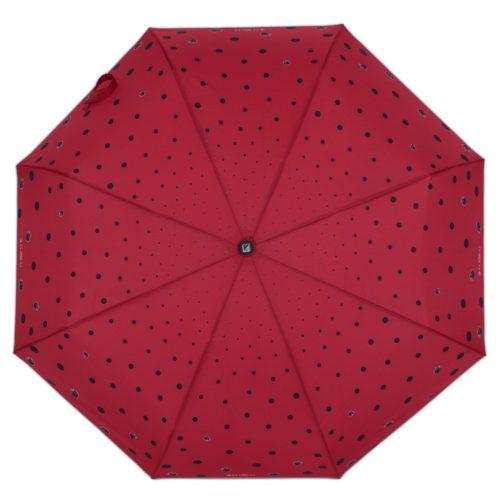 купить женский зонт складной Flioraj 160407 FJ красный