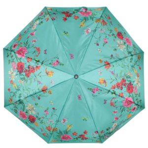 купить женский зонт складной Flioraj 190217 FJ зеленый