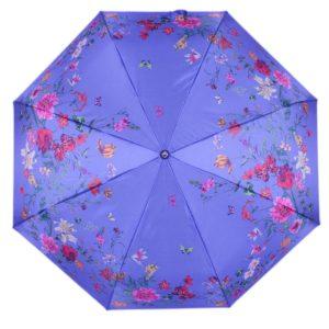 купить женский зонт складной Flioraj 190219 FJ синий