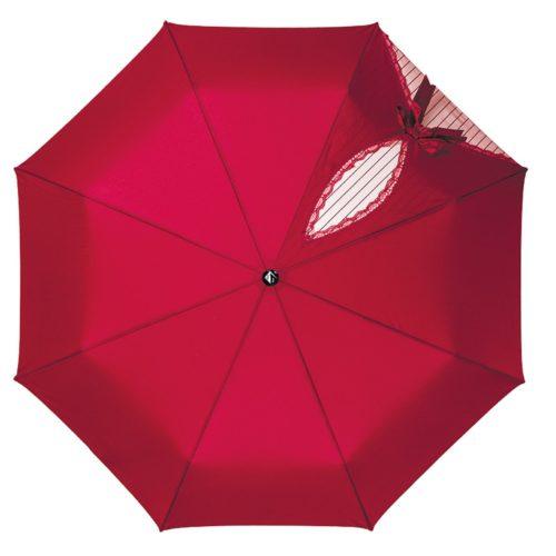 купить женский зонт складной Flioraj 20003 FJ красный