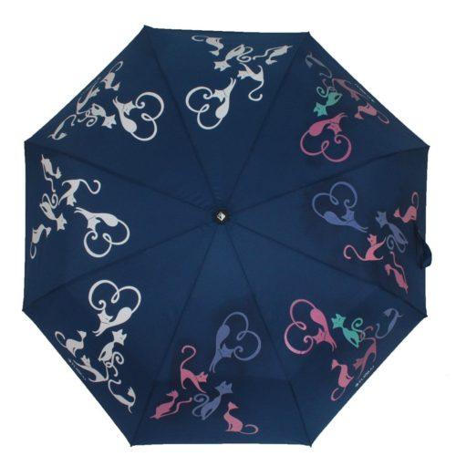 купить женский зонт складной Flioraj 210615 FJ синий