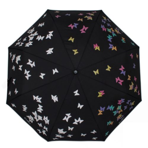 купить женский зонт складной Flioraj 210713 FJ черная