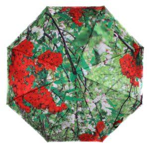 купить женский зонт складной Flioraj 231213 FJ зеленый