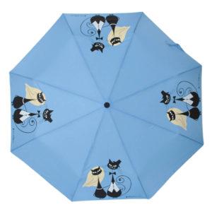 купить женский зонт складной Flioraj Toujours 160401 FJ голубой