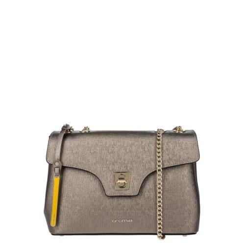 купить среднюю сумку Cromia 1403860G серебристая