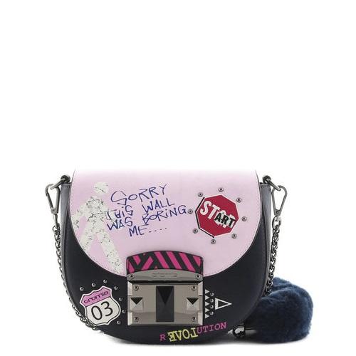 купить маленькую сумку Cromia 1403889 синяя