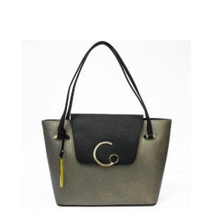 купить большую сумку Cromia 1403922 бронзовая